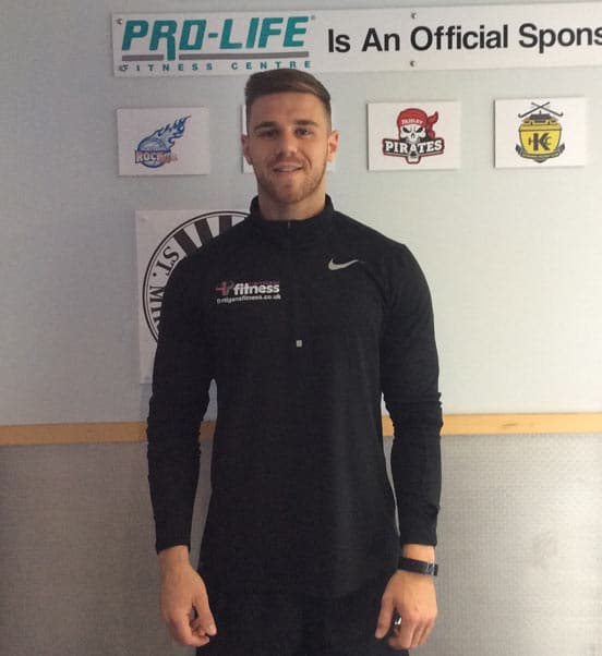 Anthony Personal Trainer Finnigans Fitness at Pro-life Fitness Centre Paisley