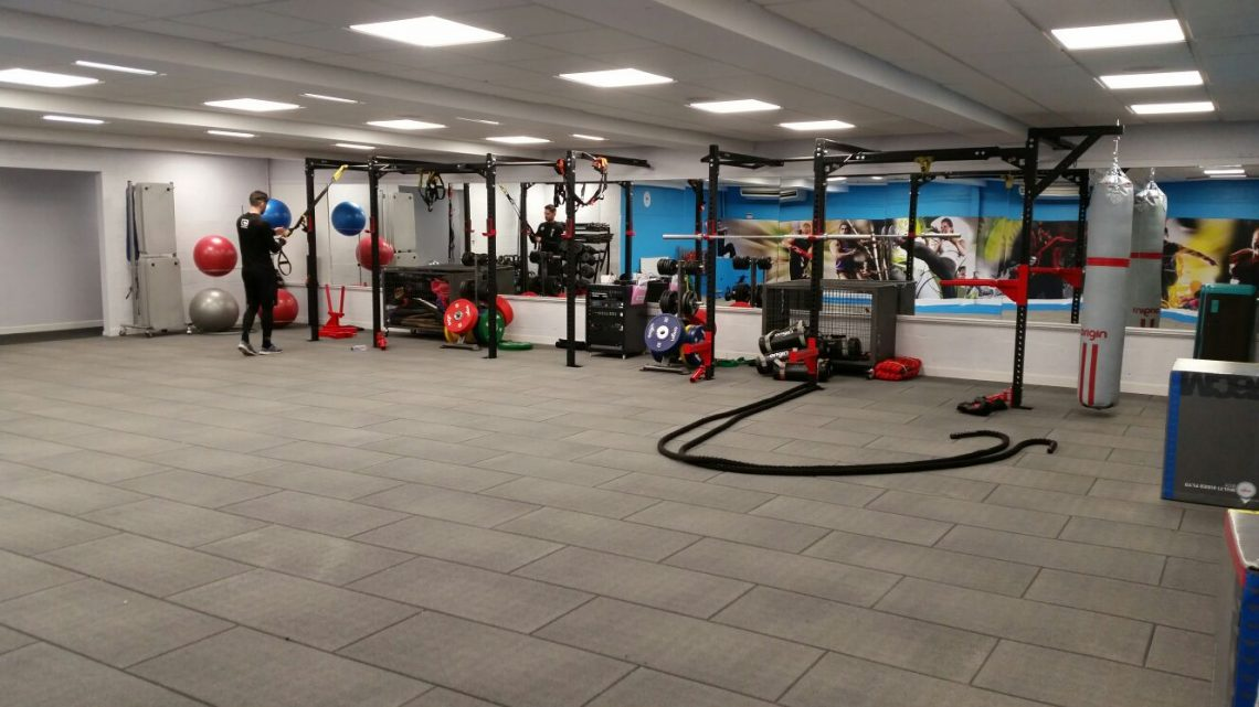 New functional crossfit zone prolife fitness centre