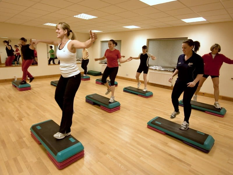 Step Aerobics Classes in Paisley