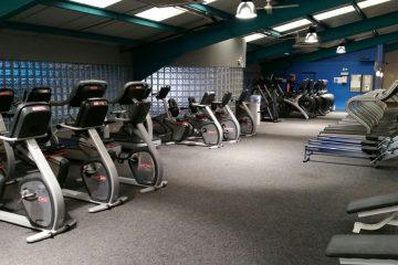 Cardio area Paisley gym
