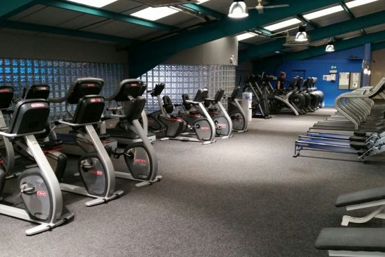 Cardio area Paisley gym