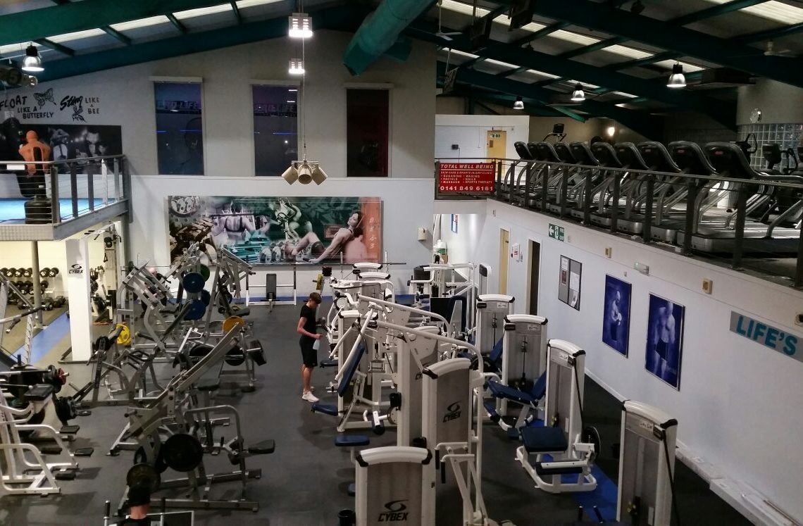 Long gym at Pro-life in Paisley