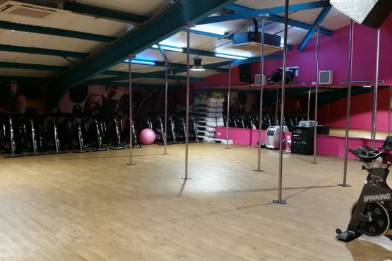 Upstairs at Pro-life Gym in Paisley
