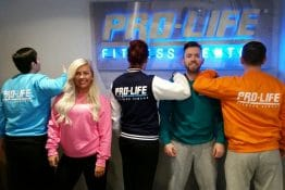 Pro-life Fitness Centre New Jacets and Sweatshirts
