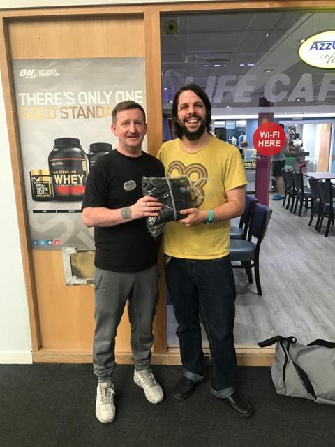 Pro-life Fitness Centre Memner of the month - Matt Ludlow