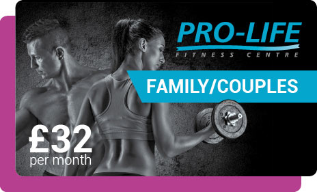 Family Gym membership in Paisley