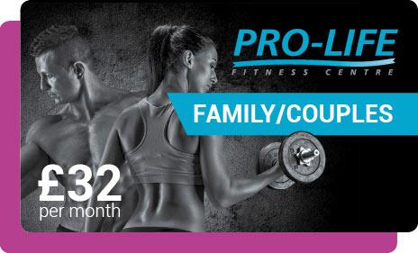 Family Gym membership in Paisley