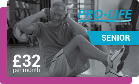 Senior gym membership in Paisley