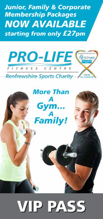 Free Pass to Pro-life Fitness Centre