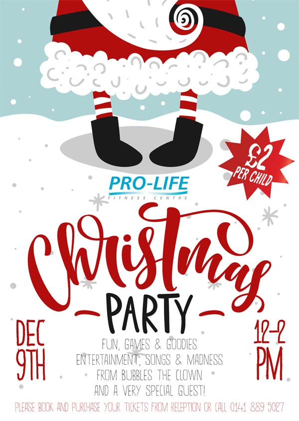 Christmas Party at Pro-life Gym Paisley