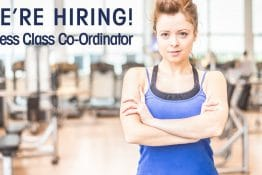 FITNESS CLASS CO-ORDINTOR - Job Vacancy Paisley