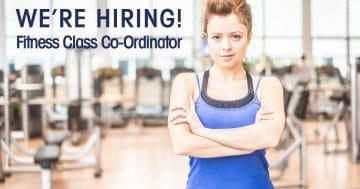 FITNESS CLASS CO-ORDINTOR - Job Vacancy Paisley